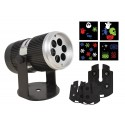 Projecteur LED d'Intérieur avec 4 cartes interchangeables