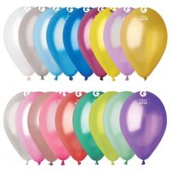 Sachet de 10 Ballons Métallisés Diamètre 30cm Gemar - Décoration ballon métallisés gemar the duck