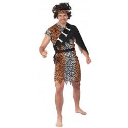 costume d'Homme des Cavernes Adulte - déguisement homme préhistorique carnaval the duck