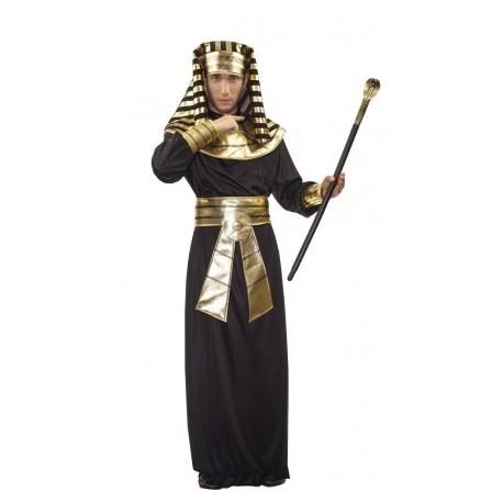 Costume de Pharaon Egyptien Doré Adulte - déguisement ramses egypt's the duck