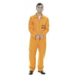 Déguisement de Prisonnier Américain Orange Adulte