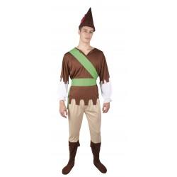 Déguisement Homme Bois Vert Homme - Costume Homme Bois Moyen Age The Duck