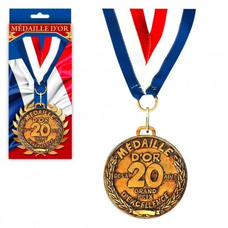 Médaille d'Or de la 20aine Granx Prix d'Excellence
