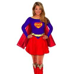 Costume de Super Héroine Femme - déguisement super femme carnaval the duck