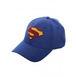 Casquette de SuperMan Bleu Logo Adulte - Objet geek superman The Duck