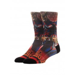 Chaussettes All Might My Hero Academia Adulte - Chaussettes animé geek the duck