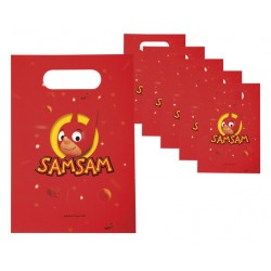 Lot de 6 Sachets Anniversaire SamSam
