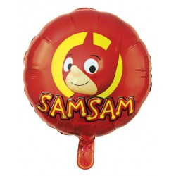 Ballon Alu SamSam - Décoration Anniversaire Enfants Dessins Animés