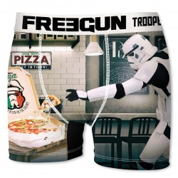 Boxer Stormtroopers Pizza Homme FREEGUN - Caleçon Star Wars Collection The Duck