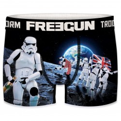 Boxer Stormtroopers sur la Lune Homme FREEGUN - Caleçon Star Wars Collection The Duck