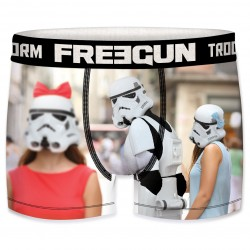 Boxer Stormtroopers Humour Homme FREEGUN - Caleçon Star Wars Collection The Duck