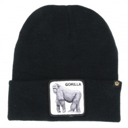 Bonnet Gorille noir GORILLA GOORIN BROS - Bonnet Animal Mode Pas Cher The Duck