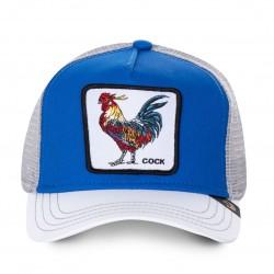 Casquette Coq Blanche & Bleue COCK GOORIN BROS - Casquette Animaux Mode Pas Cher The Duck