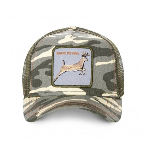 Casquette Cerf Camouflage BUCK FEVER GOORIN BROS - Casquette Animaux Mode Pas Cher The Duck