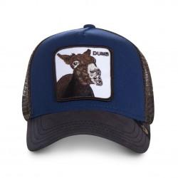 LaCasquette Dumb Âne GOORIN BROSest réglable et brodée d'un patch représentant un âne. Ce modèle simple et amusant de casquette à la mode, est fait pour vous, alors n'attendez plus !